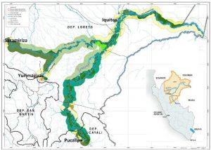 Perú Hidrovía Amazónica Tramos dyp ingeniería