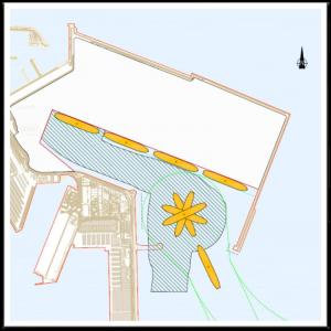 Futuro muelle de la Ampliación Norte del puerto de Valencia