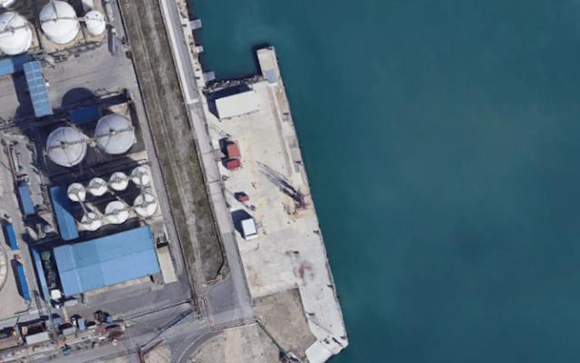 Repsol Butano en el puerto de Tarragona
